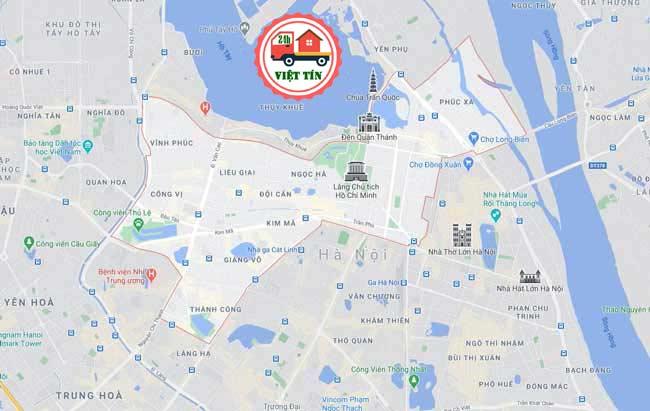 Chuyển nhà trọn gói tại Ba Đinh đang rất được quan tâm