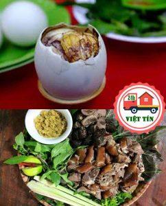Ăn trứng vịt lộn đầu tháng và ăn thịt chó cuối tháng