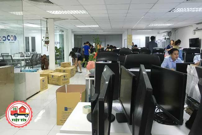 Chuyển văn phòng trọn gói Kiến Vàng đang rất được tin tưởng tại Quận Hai Bà Trưng