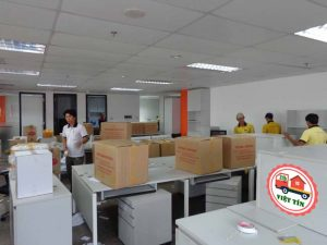 Dịch vụ chuyển văn phòng Việt Tín luôn sẵn sàng phục vụ quý khách