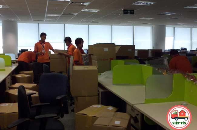 Đội ngũ nhân viên chuyển văn phong trọn gói tại Đống Đa