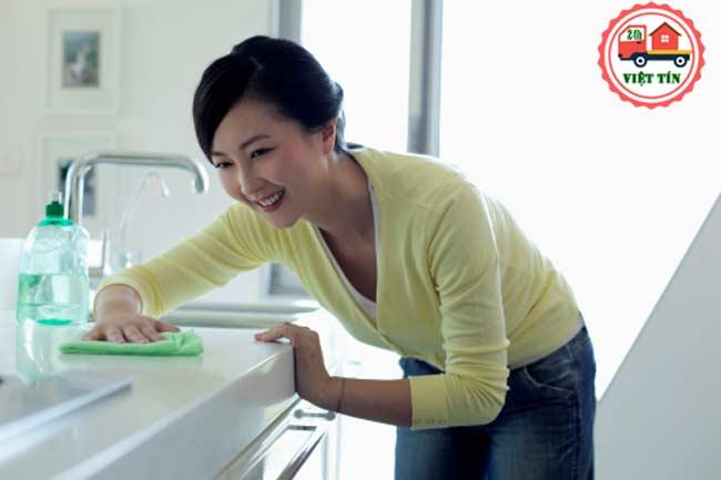 Cách dọn dẹp và giữ nhà bếp ngăn nắp