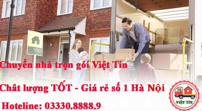 Dịch vụ chuyển nhà liên tỉnh Việt Tín